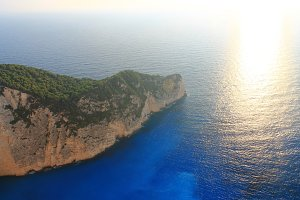 Beautiful sunset ,Zakynthos