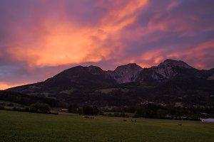 Morning in Schoenau