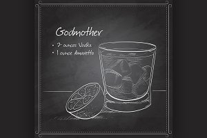 Alcoholic Cocktail Godmother