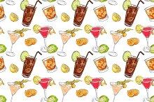 Color pattern cocktails