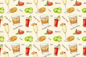 Color pattern cocktails