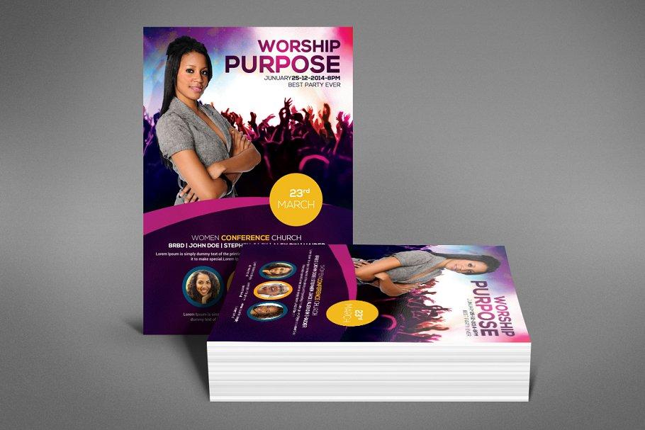 Worship Purpose Flyer