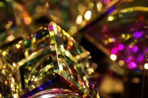 abstract shiny glass background