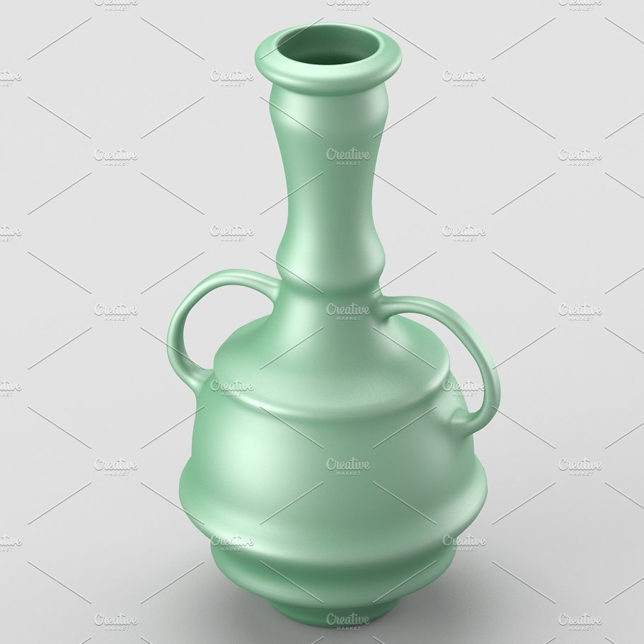 Decorative vase with two handles objects creative market decorative vase with two handles reviewsmspy
