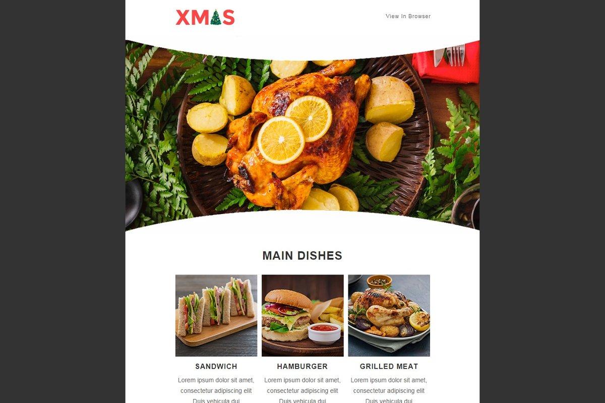 X-MAS - Responsive Email Templates