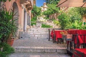 Italian  streets / restaurant