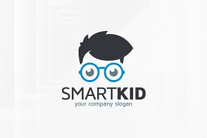 Smart Kid Logo Template