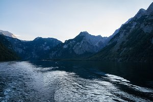 Koenigssee and Mountains