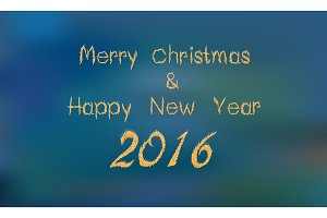 Merry Xmas and 2016 Happy new year