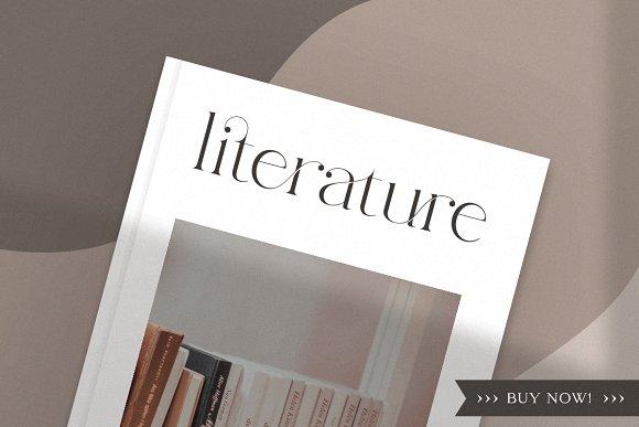 abigail - unique ligature font in Display Fonts - product preview 1