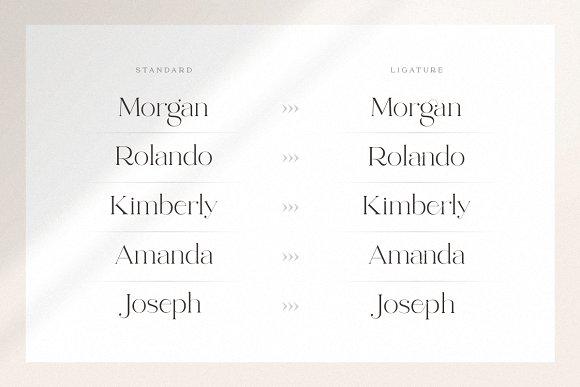 abigail - unique ligature font in Display Fonts - product preview 2