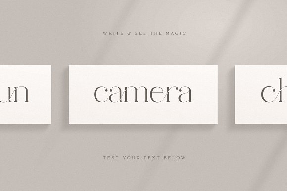abigail - unique ligature font in Display Fonts - product preview 8