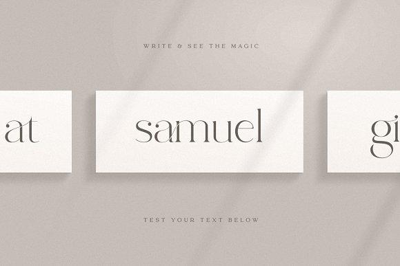 abigail - unique ligature font in Display Fonts - product preview 9