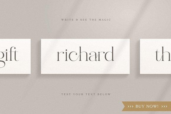abigail - unique ligature font in Display Fonts - product preview 10