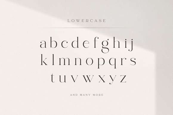 abigail - unique ligature font in Display Fonts - product preview 15