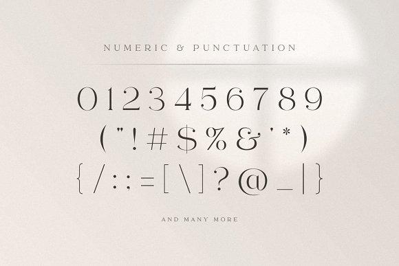 abigail - unique ligature font in Display Fonts - product preview 16