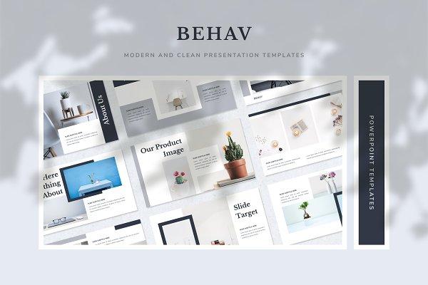 Behav Creative PowerPoint Template