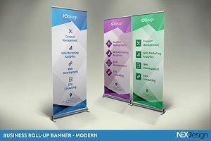 Business Roll-up Banner - nex #010