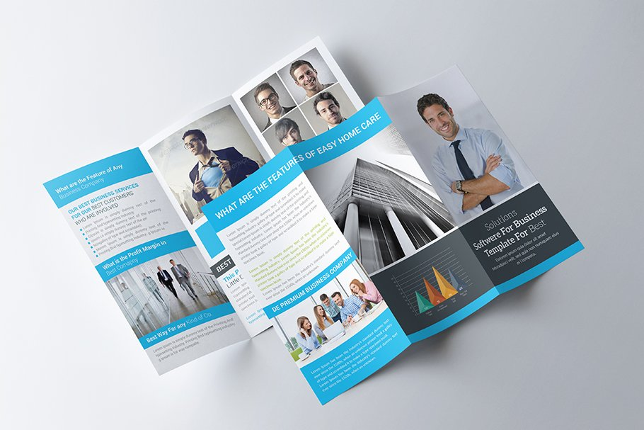 Global Communication Company Trifold