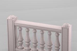 Decorative balustrade