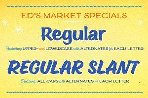 Ed's Market Regular Slant