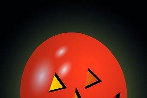 Halloween spooky balloon