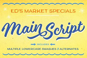 Ed's Market Main Script