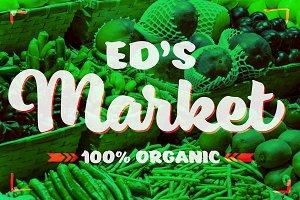 Ed's Market Bold Script