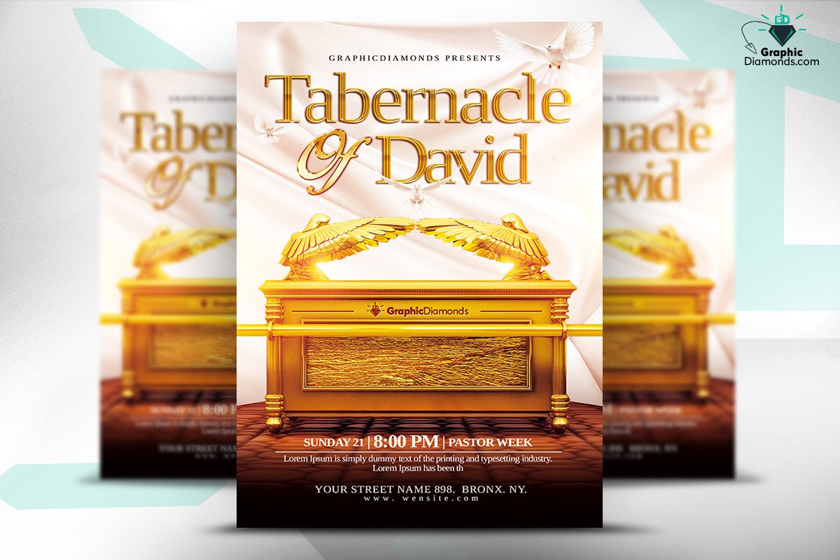 youth ministry flyer template flyer templates on creative market tabernacle of david church flyer psd