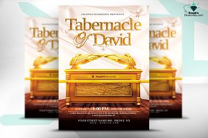 Tabernacle of David Church Flyer PSD