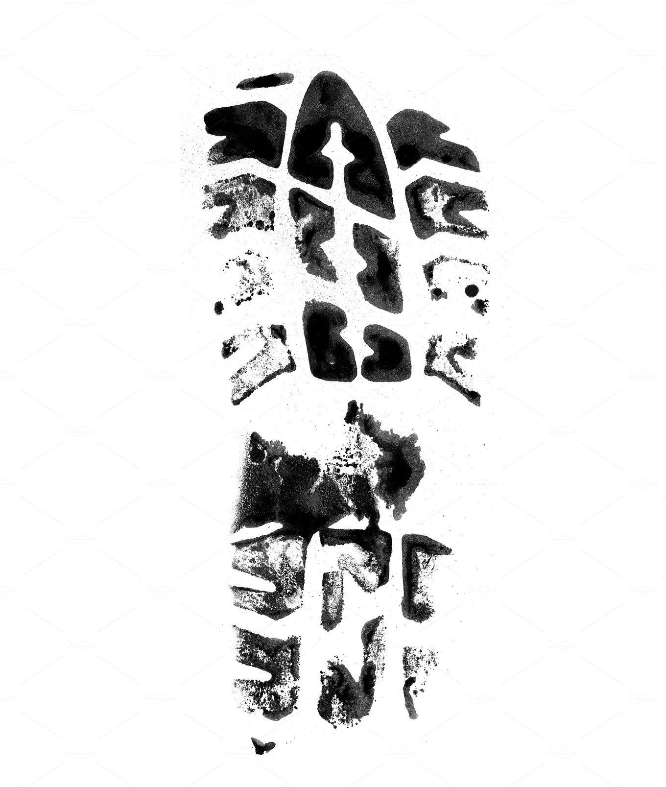 shoe print background ~ People Photos ~ Creative Market
