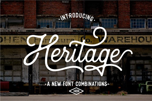 HRDR FONT BUNDLE! in Display Fonts - product preview 1