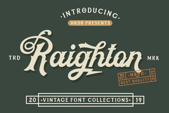 HRDR FONT BUNDLE! in Display Fonts - product preview 5