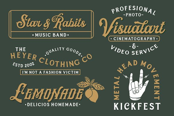 HRDR FONT BUNDLE! in Display Fonts - product preview 6