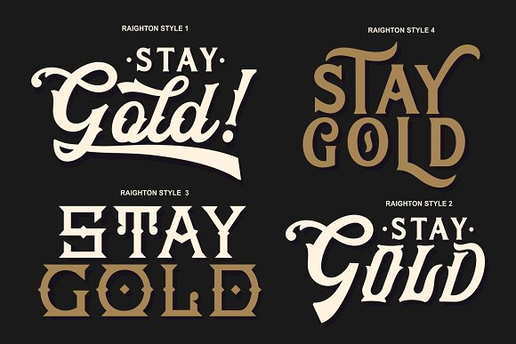 HRDR FONT BUNDLE! in Display Fonts - product preview 7
