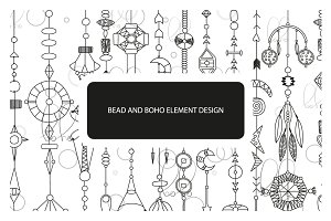 Bead and boho element design