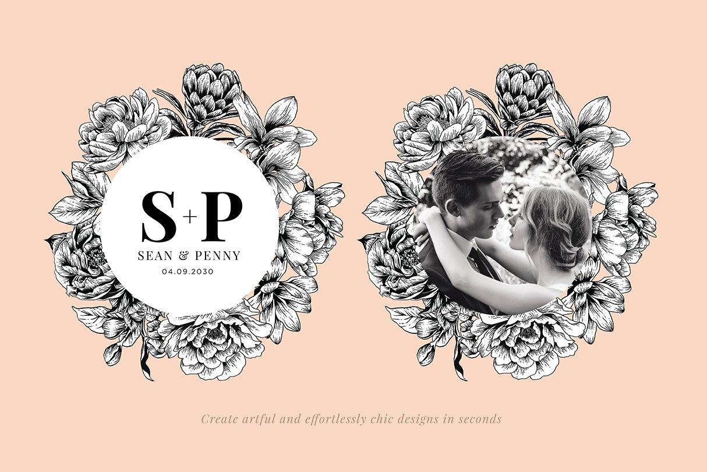 botanik preview wedding branding
