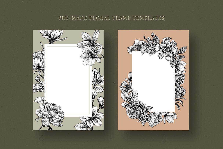 botanik preview frame template 1