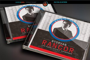 Political CD Artwork Template