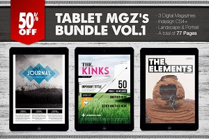 Tablet Magazines Bundle 1