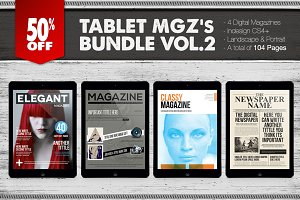 Tablet Magazines Bundle 2