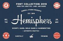 Hemisphers - Font Collection