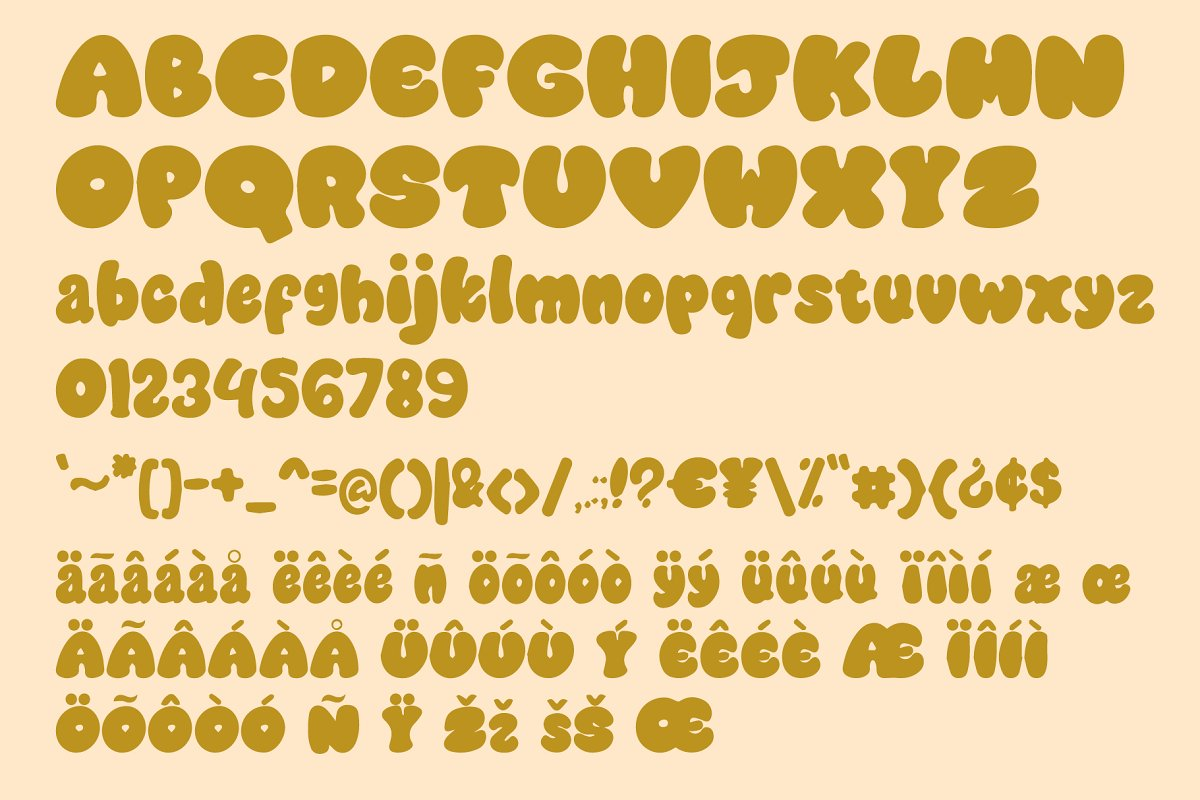 Cookies Chip Cute Font
