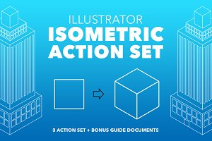 Illustrator Isometric Action Set