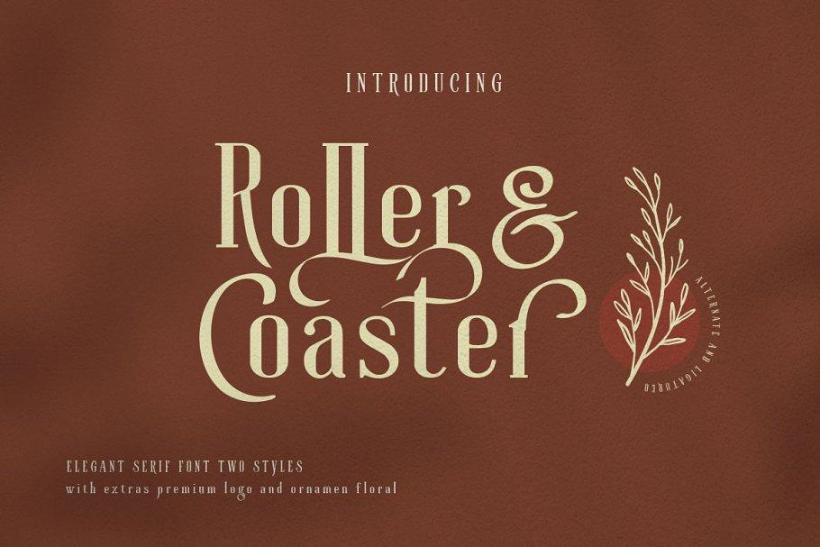 Roller Coaster Serif (Bonus)