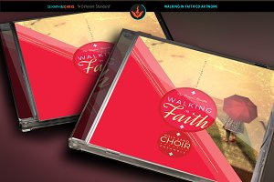 Walking in Faith CD Artwork Template