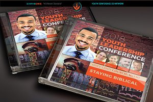 Youth Conference CD Artwork Template