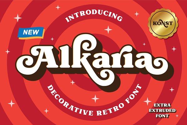 Alkaria - Vintage Retro Decorative