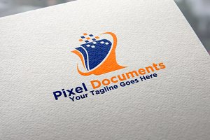 Pixels Documents Logo