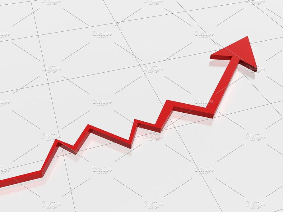 success graph background business images creative market